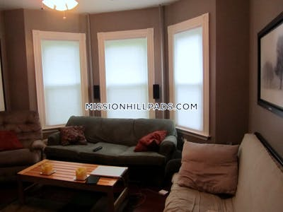 Mission Hill Apartment for rent 3 Bedrooms 1 Bath Boston - $3,000